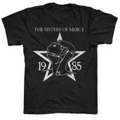 1985 The Sisters of Mercy T-Shirt from The Sisters store (Online Exclusive) #TheSistersOfMercy