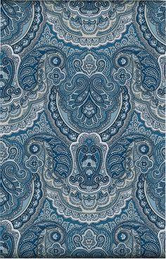 Paisley interior design pattern decorating in Swedish