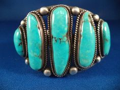 We just took in a consignment of over 30 pieces of Native American Jewelry. Most pieces are 40 years old or older. Most are signed, some are