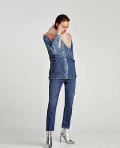 Image 1 of THE RECONSTRUCTED DENIM JACKET from Zara