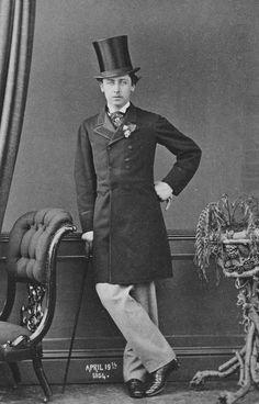 Queen Victoria's second son, Prince Alfred Duke of Edinburgh & future Duke of Saxe-Coburg & Gotha, 1864