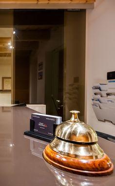 www.hoteltrapaniin.it  #hotel #design #reception