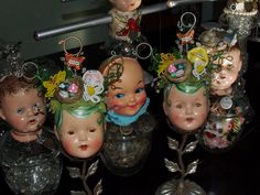 Altering dolls is still one of my favorite things to do. circa 2008