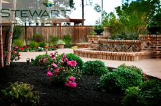 At Stewart Land Designs we specialize in the design and installation of custom pools, irrigation, lighting, pavers, retaining walls and water features. Custom Pools, Backyard, Patio, Irrigation, Water Features, Garden Bridge, Outdoor Structures, Landscape, Clutter