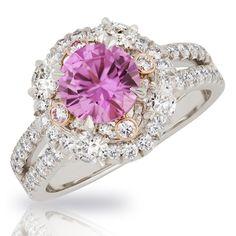 Marie Fuchsia Sapphire Ring