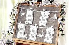 Image result for wedding  christmas table plan