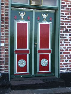 Denmark door in Ribe