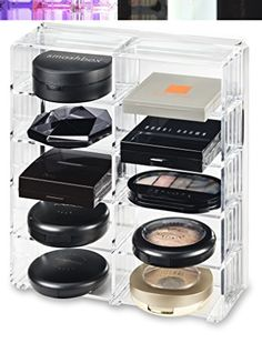 Another Great Product by byAlegory | Acrylic Oversized Compact Organizer & Beauty Care Holder Provides 10 Space Storage | byAlegory (Clear) byAlegory Premium Beauty Organization | $27