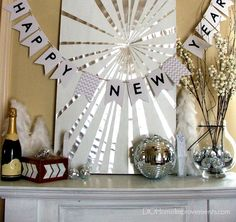 DIY New Year's Eve Party Decorations - The Interior Project