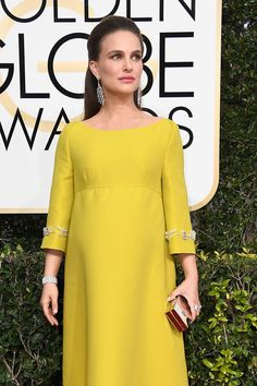 Portmans yellow sequin dress