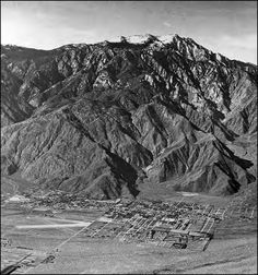 Aerial shot of Palm Springs...many years ago