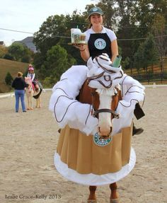 HALLOWEEN HORSES - STARBUCKS #horses