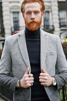 Gwilym C Pugh - redhead and tattooed) I'm in love =)