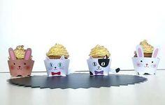 🐾Cupcakes tiramisù tema PET🐾 RICETTA di @attina90 con i wrapper @fabulouspartydesign 👉🏻LINK IN BIO👈🏻 👓Per rimanere sempre aggiornati sui post iscrivetevi alla news letter su www.fabulouspartydesign.com 👓#party #ricette #muffin#cupcake #gatto #coniglio #wrapper #pirottino #pet #animali #domestici #tiramisu #tiramisucake #notonlymama #mammeaspillo #maviepuntoit #mammaaiutamamma #instamamme2 #instamamme #food #sweet #instafood