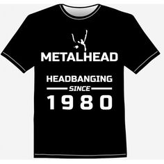 891f1522b6d866 Metal head – heavy metal Horns Up - Buy cool t-shirts online on  PlayLoudApparel