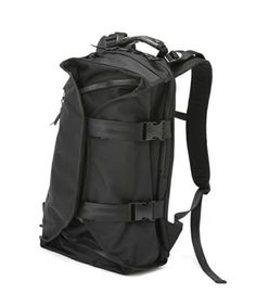 Lorinza Double Strap Backpack Black