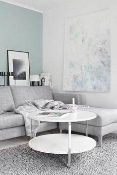 farbpalette farbgestaltung wanddeko Pastell Wandfarben blass