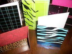 Blank greeting cards designs by Jacquelyn