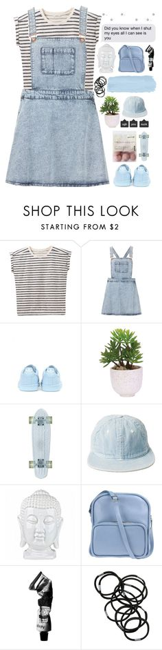 """SIGNING OFF MY INTERNET LIFE [ imp. desc ]"" by lost-somewhere-in-outerspace ❤ liked on Polyvore featuring Lee, Topshop, adidas, Lux-Art Silks, Jil Sander Navy, Aesop and Monki"