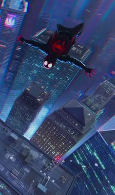 Spiderman: Into the Spiderverse phone wallpapers Cartoon Wallpaper Hd, Glitch Wallpaper, Marvel Wallpaper, Movie Wallpapers, Spiderman Spider, Amazing Spiderman, Miles Morales Spiderman, Best Avenger, Superhero Poster
