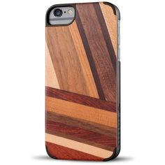 Recover Wood Iphone 6 Case Brown By ($40) ❤ liked on Polyvore featuring accessories, tech accessories, phone cases, phones, case and electronics accessories