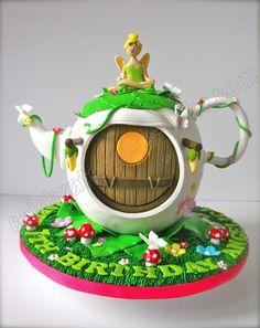 Celebrate with Cake!: Fairy Teapot Cake