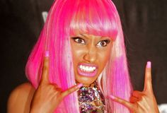 Nicki Minaj shes crazy and has her own style and inspires me to always be my…