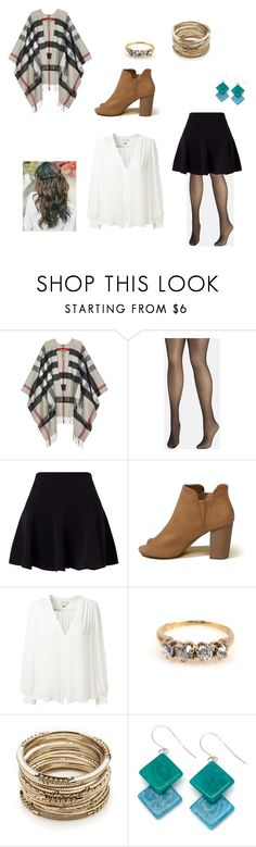 """""""November"""" by mia-evergreen on Polyvore featuring Burberry, Avenue, Miss Selfridge, Hollister Co., Erin Fetherston, Sole Society and Encanto"""