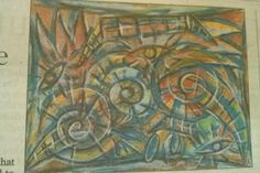 'UNTITLED ' This is the oil-on-paper work, credited to late Cuban artist Carlos Alfonso A work credited to a Cuban artist Carlos Alfonso.