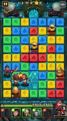 Puzzle Guardians is a Free Android Role Playing Puzzle Multiplayer Game an exciting combination of your favorite puzzle game and fantasy RPG