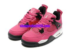 huge discount 35df4 4710f Nike Air Jordan 4 Womens Shoes Pink White Womens Basketball Shoes  Pink   Womens