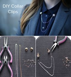 #DIY Collar Clips!