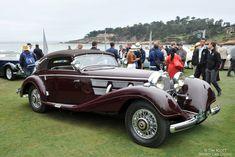 1937 Mercedes-Benz 540K Cabriolet A - Pebble Beach Concours d'Elegance 2014