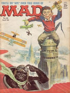 MAD Magazine Cover No. 94 April '65 | Flickr - Photo Sharing!