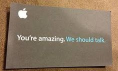 You're amazing connection type card (Apple).