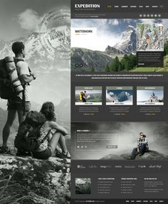 Expedition WordPress Theme for Guides and Travelers