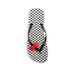 Women's Hello Kitty Polka Dot Flip Flop (133.185 IDR) ❤ liked on Polyvore featuring shoes, sandals, flip flops, polka dot, hello kitty shoes, black flip flops, black shoes, slip-on shoes and hello kitty sandals