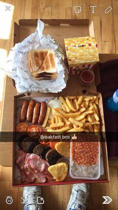 Irish breakfast munchie box