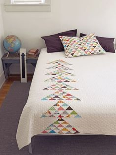 Denyse Schmidt Quilts- love the simplicity- and mix of modern with traditional
