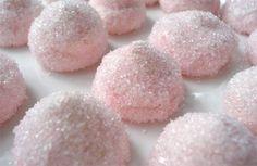 Docinhos rosa.