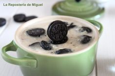 This summer, try a different rice pudding ........ with Oreo cookies!!
