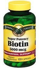 Biotin Supplements for Growing Black Hair Long