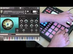 Hang Drum & Halo Drum Software by Soniccouture - NI Maschine Demo - YouTube