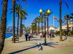 Cartagena seaside promenada, Spain #trivo
