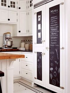 Kitchen inspiration - love this idea!