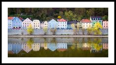 Danube River Photography, Germany Photography, European Fine Art, Wall Decor, Fine Art Photography, Vivid Colors, Wall Art - pinned by pin4etsy.com