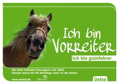 Kunde: Üstra - Pitch - Text und Konzept Pitch, Horses, Movie Posters, Animals, Concept, Animales, Film Poster, Animaux, Popcorn Posters