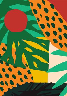 Palm tree wall chart, Vintage wall art, palm tree jungle illustration, tro Mini Art Print by AP Poster Jungle Illustration, Botanical Illustration, Jungle Art, Frog Art, Guache, Tropical Art, Painting Of Girl, Arte Pop, Pattern Art
