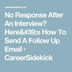 FollowUp Email Examples For After The Interview  IndeedCom