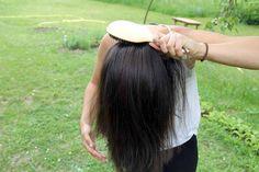 Bloggerin Lisa Pfleger wäscht ihre Haare nur noch ein Mal die Woche mit Wasser.
